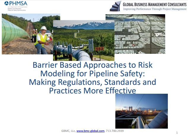 Barrier based approaches to risk modelling