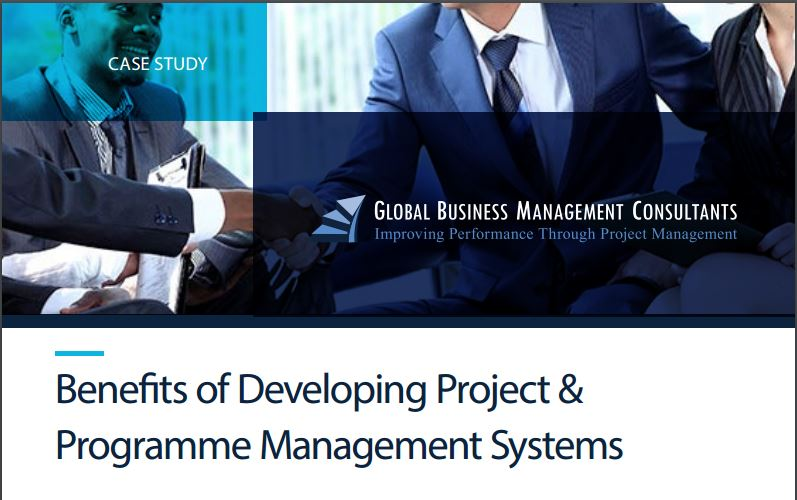 Benefits dvpt proj mgmt systems