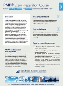PMP exam course